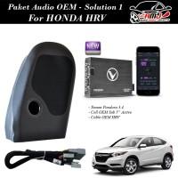 Paket Audio OEM Honda HRV Solution 1 - Plug And Play Berkualitas