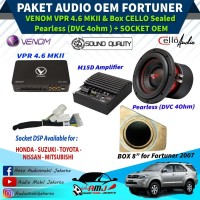 Paket Audio Mobil OEM Daily Use FORTUNER 2007 Berkualitas