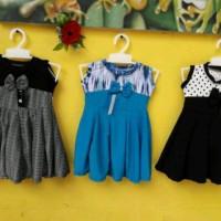 Promo..!! Dress baby Kensi uk 6-18 bulan baju anak baju bayi perempuan