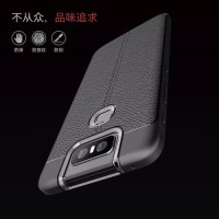 ASUS ZENFONE 6 ZS630KL LEATHER SOFT BACK COVER CASE CASING RUBBER