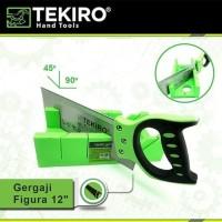 Tekiro Gergaji Figura 12 inch gergaji pigura mitre box back saw