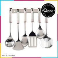 spatula OXONE OX 963 - sendok masak set stainless steel - original
