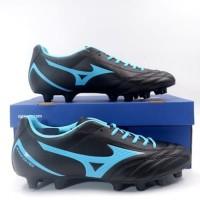 Sepatu Bola Mizuno Monarcida Neo Select Black Blue P1GA192525 Ori