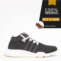 Sepatu Sneakers Original Sepatu Adidas EQT Support MID ADV PK - Black