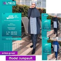 Original Alnita Baju Renang Muslimah Jumpsuit ABR 03