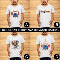 Persija The Jak Jakmania Baju Kaos Anak dan Balita Custom Teks/Nama