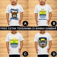 PERSIB Bandung Viking Bobotoh Baju Kaos Anak dan Balita Custom Nama