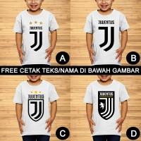 Juventus FC Baju Kaos Bola Anak dan Balita Custom Teks/Nama