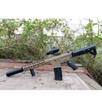 AR-15 airsoft spring / M4 Predator Rifle Tan series foregrip Scoope