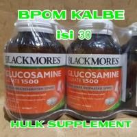 blackmores glucosamine sulfate 1500mg 1500 mg glukosamin 30 tabs