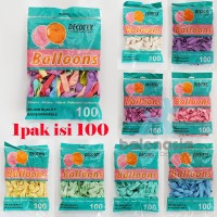Balonasia balon pastel mini 5 Inch (Isi 100)