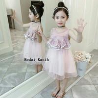 Baju Anak Perempuan Dress Kutung Pesta Kondangan Import Best Seller