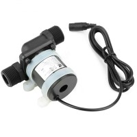 Pompa Air 12V DC Celup Mini Booster Pendorong Kolam Heater Water Pump