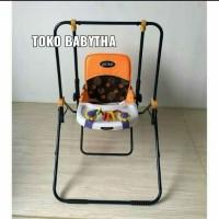 Ayunan Bayi Murah Swing Pliko 202 Kursi Ayun Anak Ada Mainan Original