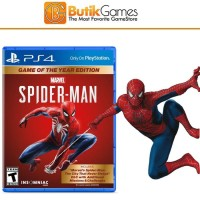 SpiderMan PS4 GOTY Game of the Year edition