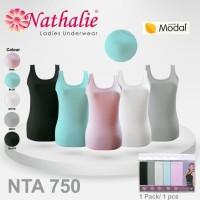 Nathalie Kaos Tanktop Wanita Basic NTA 750