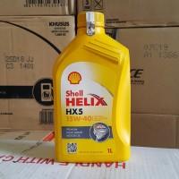 OLI MESIN MOBIL SHELL HELIX HX5 15W-40 1 LITER