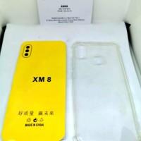 001 VVVshop Xiomi Mi8 silikon jelly anti crack softcase hp bening tran