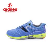Ardiles Men Glissando Sepatu Badminton - Biru - Biru, 39