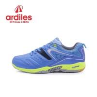 Ardiles Men Glissando Sepatu Badminton - Biru
