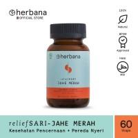 Herbana Relief Sari Jahe Merah - 60 Kapsul