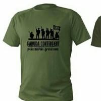 kaos/baju/tshirt UNITED NATIONS - GARUDA CONTINGENT LEBANON - UNIFIL