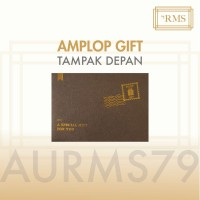 AMPLOP GIFT LOGAM MULIA ANTAM/EMAS ANTAM/LM