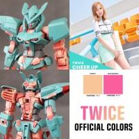 Repaint HG Gundam Astray Twice Frame Myoui Mina (Gold Amatsu Mina Base
