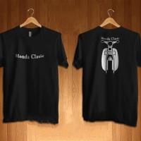 tshirt Kaos baju clasic Honda C70