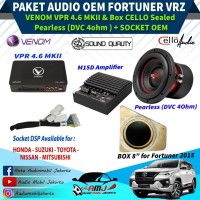 Paket Audio Mobil OEM Daily Use FORTUNER VRZ Berkualitas