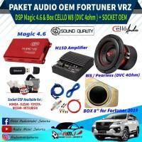 Paket Audio Mobil Oem Fortuner VRZ Berkualitas