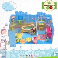 Mainan Puzzle 3 Dimensi GIRLS BATH ROOM   Mainan Edukatif Anak - 690C