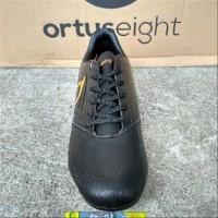 Sepatu Bola Ortuseight Genesis FG -Black Ortrange- Original