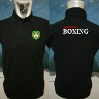 Polo Shirt Tinju, Kaos polo Boxing, Kaos Kerah Olahraga Tinju