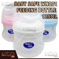 Baby Safe WN001 Wide Neck Bottle 125ml Botol Susu Anak Bayi Balita