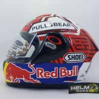 Helm INK Clmax Repaint Marquez Red Bull 93 ShoeI Cl max