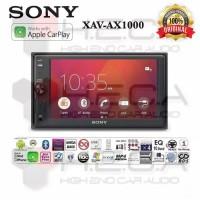 AUDIO MOBIL Sony XAV-AX1000 Head Unit Tape Mobil Double din Audio Appl