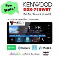 AUDIO MOBIL Kenwood DDX-718WBT Head Unit Double Din DDX718WBT Tape Aud
