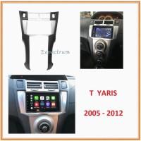 Frame OEM Double Din Head Unit Audio TOYOTA YARIS 2005-2012