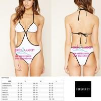 Forever 21 baju renang swimwear monokini sale