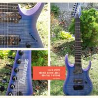Ibanez axion label RGA71AL 7-string