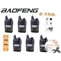 PAKET 6 Unit HT Baofeng Bf-T1 Sudah Terkoneksi Dengan Baik