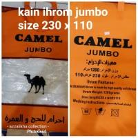 kain ihram camel JUMBO perlengkapan haji dan umroh