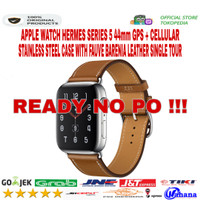 Apple Watch Hermes Series 5 44mm Stainless Fauve Single Leather