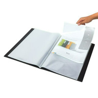 Display Book Bantex. Clear Holder Exclusive Size Folio. 24 Pocket.