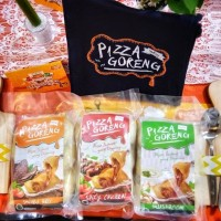 Pizza Goreng Indosaji Cemilan / Snack / Makanan Ringan)-Doubel cheese