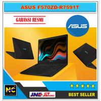 ASUS F570ZD-R7591T - Ryzen 7 - SSD 256GB- HDD1TB-GTX1050 4GB Black