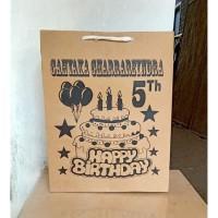 tas PAPER BAG kertas souvenir paperbag ulang tahun ultah anak