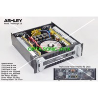 POWER ASHLEY PRO DESIGN 2.0 POWER AMPLIFIER 2000 WATT ORIGINAL