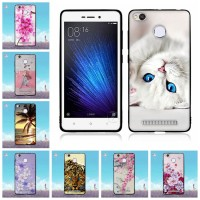 V 5.0 inch Case for Xiaomi Redmi 3X Fashion Painting Back Cover for